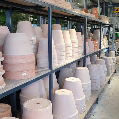 Des poterie